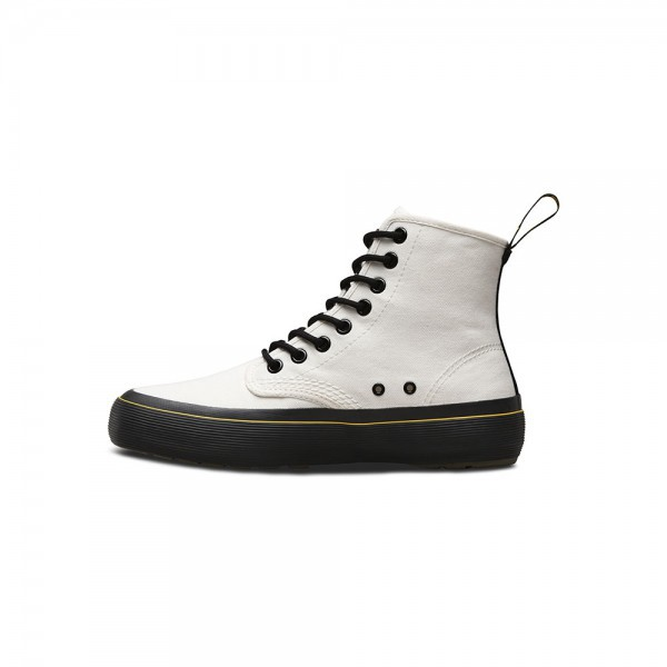 Dr Martens Monet White Canvas