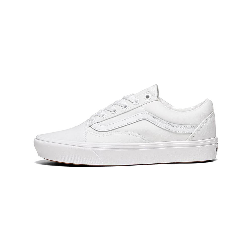 Vans-Comfycush-Old-Skool-Black-True-White-Sneakers-Women-Shoes-All-Sizes-NIB miniatura 20