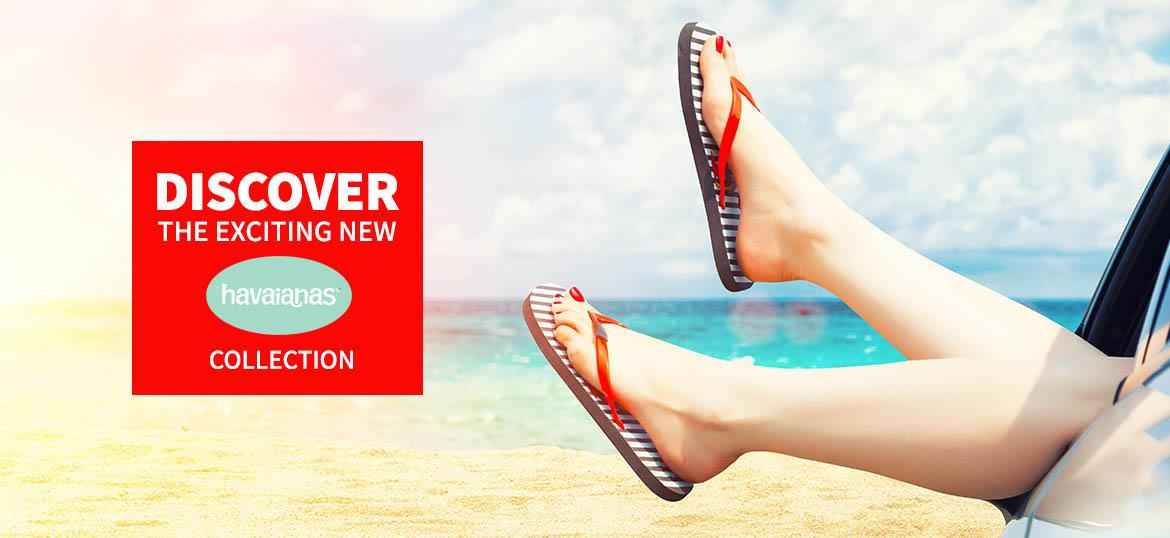 Discover the exciting new Havaianas Collection